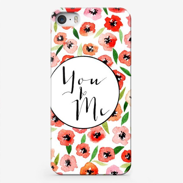 Чехол iPhone «You and me»