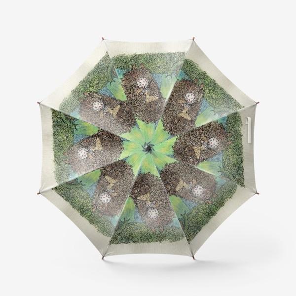 Зонт «Ежик и улитка»