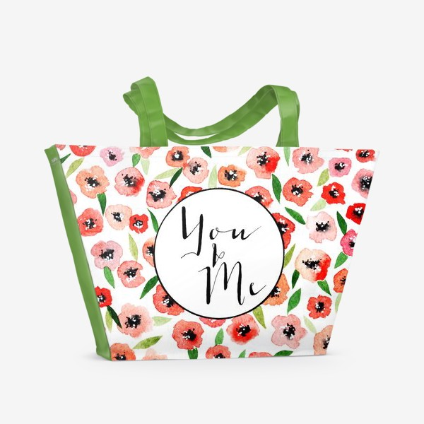 Пляжная сумка «You and me»