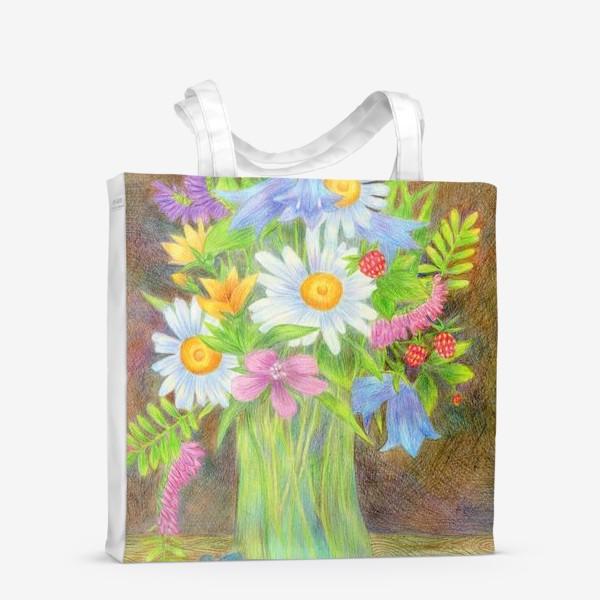 Сумка-шоппер «Букет полевых цветов »