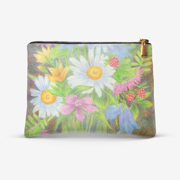 Косметичка «Букет полевых цветов »