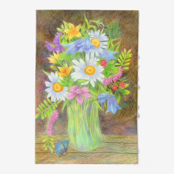 Полотенце «Букет полевых цветов »