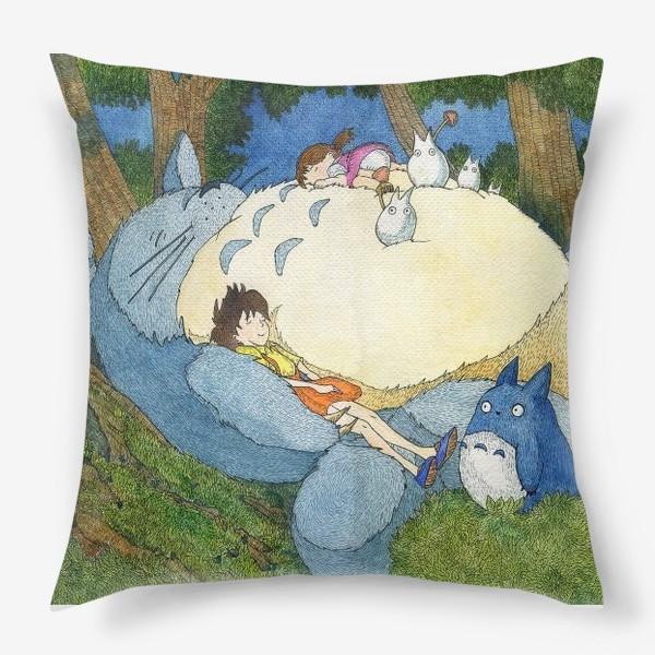 Подушка «Мой сосед Тоторо»