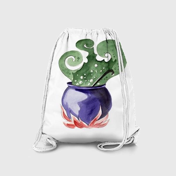 Рюкзак «Котел с магическим зельем на Хэллоуин »