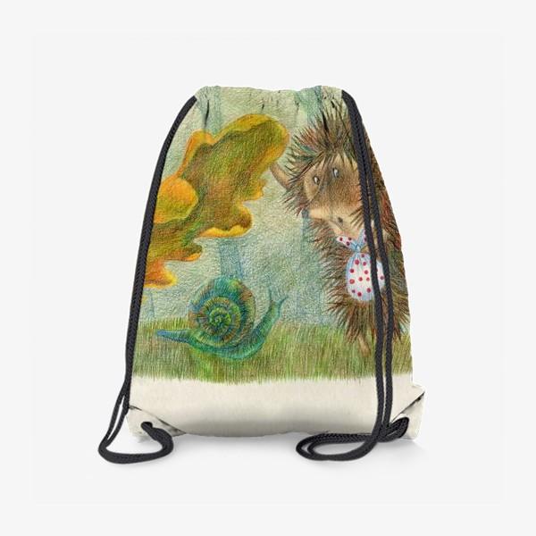 Рюкзак «Ежик в тумане»