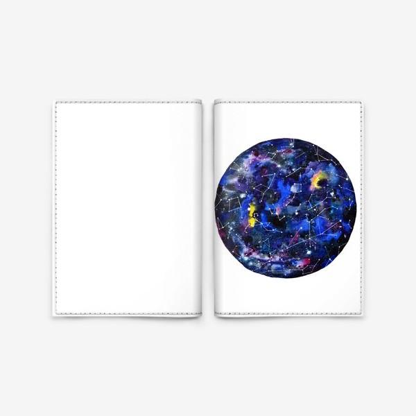 Обложка для паспорта «Звездное небо »