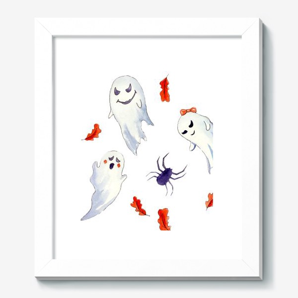 Картина «Милые приведения на Хэллоуин »