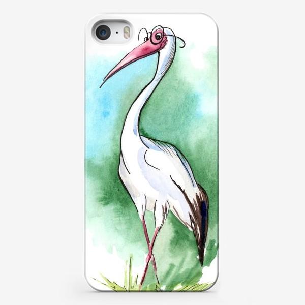 Чехол iPhone «Журавль»