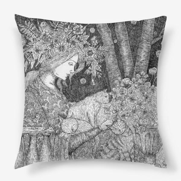 Подушка «Лесная нимфа»