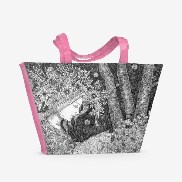 Пляжная сумка «Лесная нимфа»
