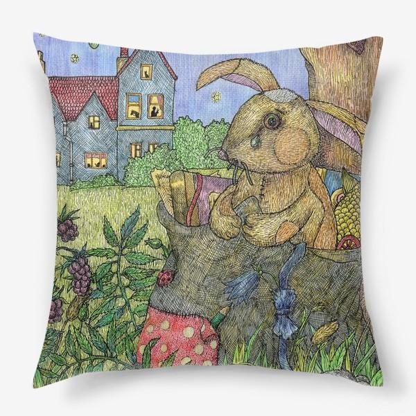 Подушка «Плюшевый кролик»