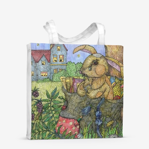 Сумка-шоппер «Плюшевый кролик»