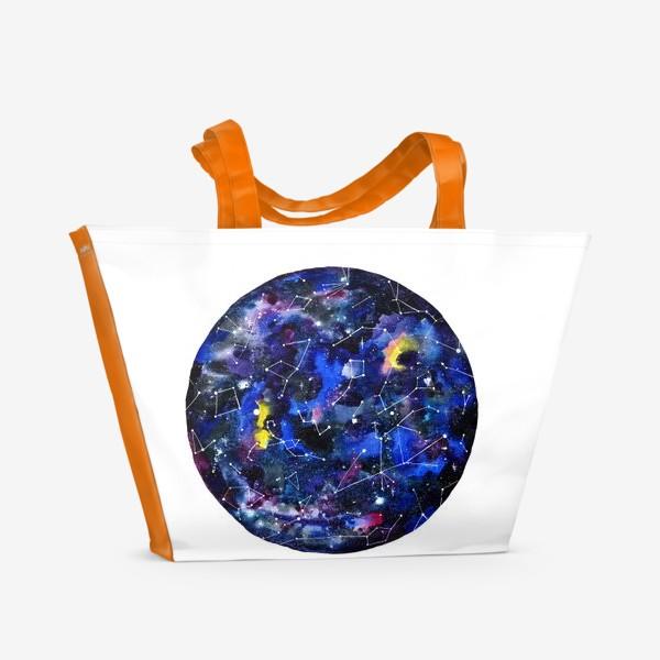 Пляжная сумка «Звездное небо »