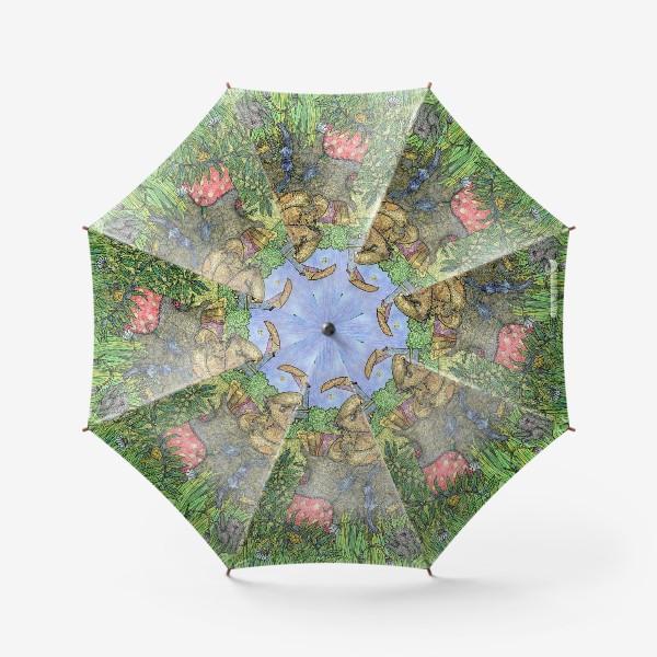 Зонт «Плюшевый кролик»