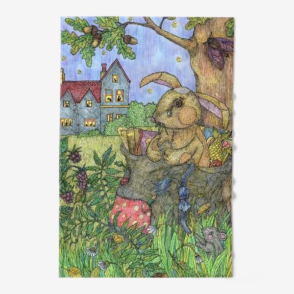 Полотенце «Плюшевый кролик»