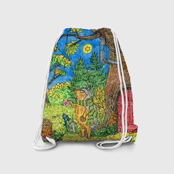 Рюкзак «Маленький ежик »