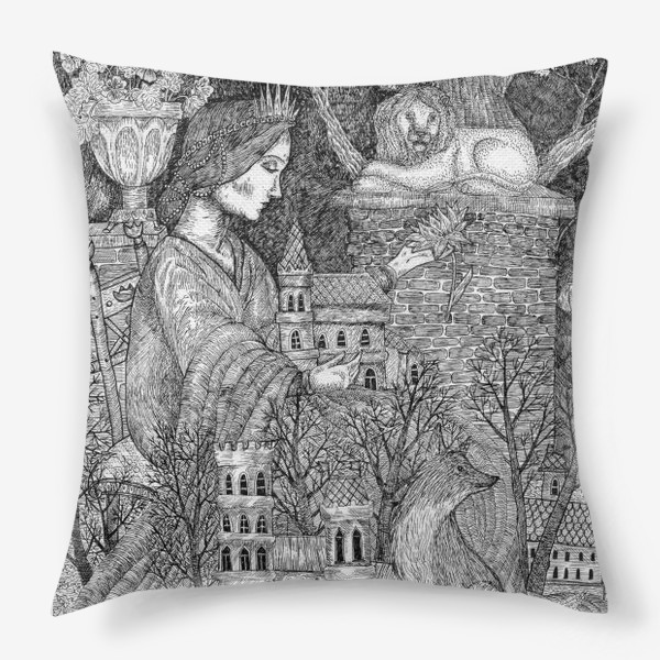 Подушка «Старая сказка»