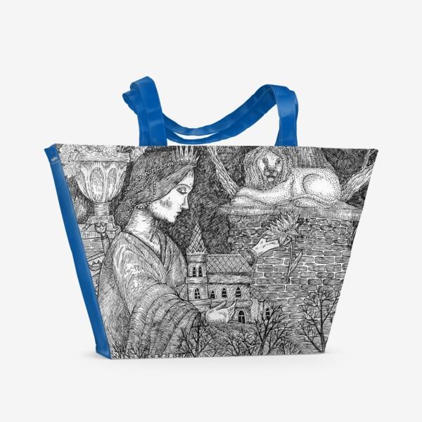 Пляжная сумка «Старая сказка»