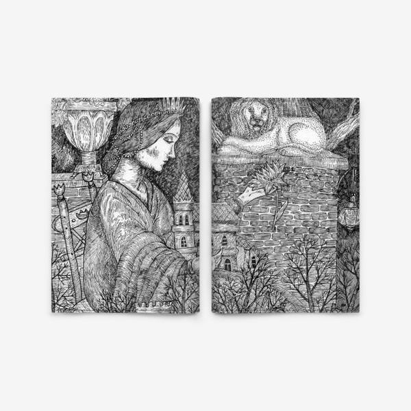 Обложка для паспорта «Старая сказка»