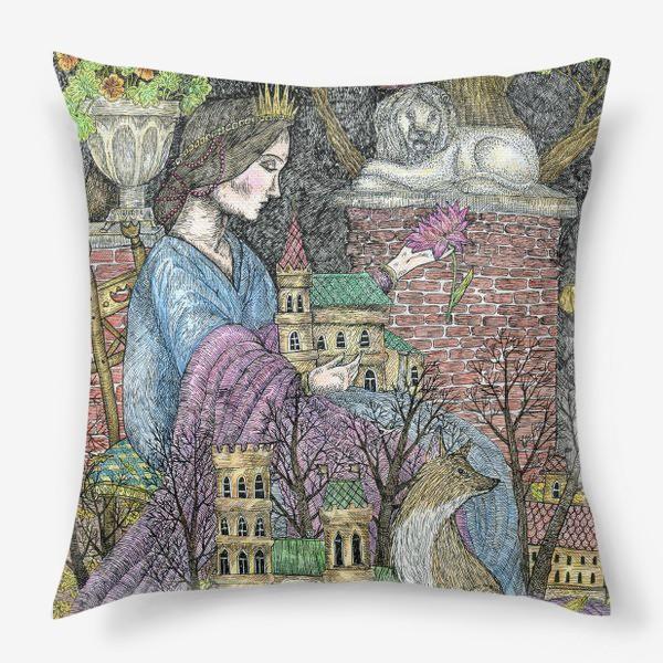Подушка «Сказочная нимфа»