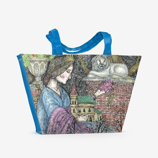 Пляжная сумка «Сказочная нимфа»