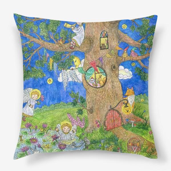 Подушка «Летняя история»