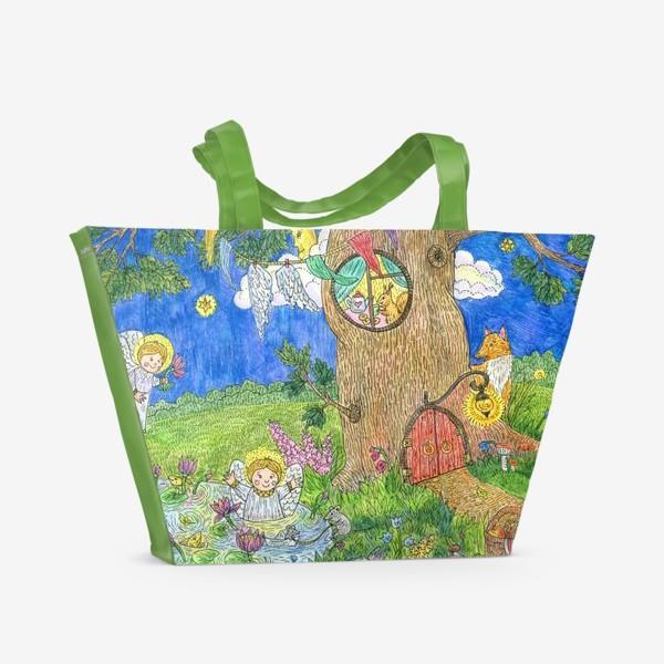 Пляжная сумка «Летняя история»