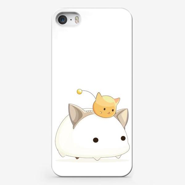 Чехол iPhone «Кавайный кот»