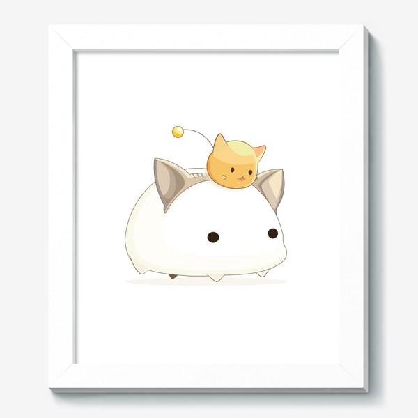 Картина «Кавайный кот»