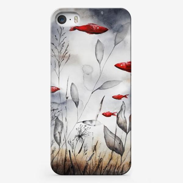 Чехол iPhone «Красные рыбки»