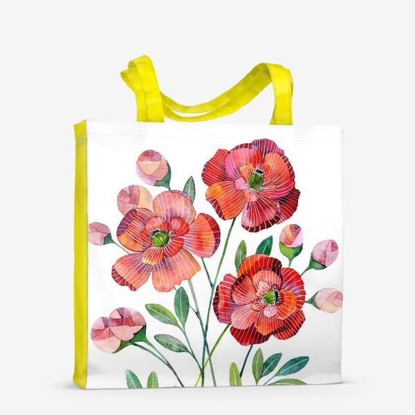 Сумка-шоппер «Маки»