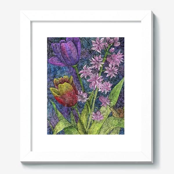 Картина «Тюльпаны и гиацинт»