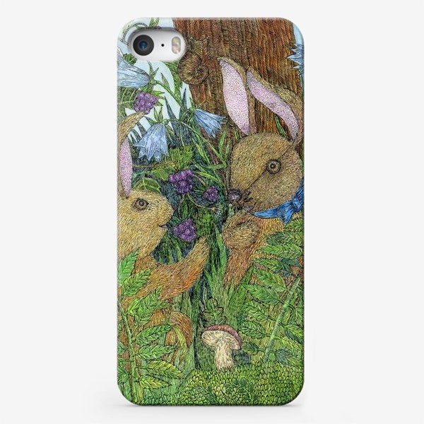 Чехол iPhone «Кролики»