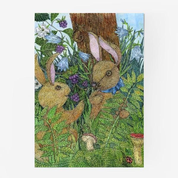 Постер «Кролики»