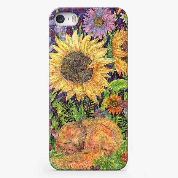 Чехол iPhone «Сон маленького лисенка»