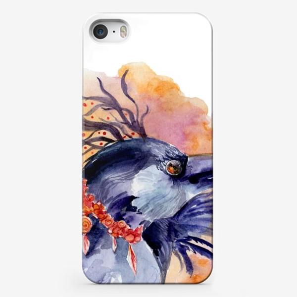 Чехол iPhone «Ворон »