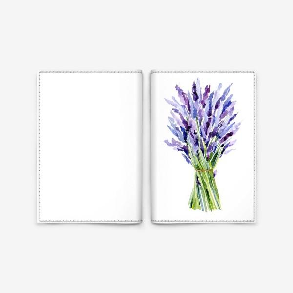 Обложка для паспорта «Лаванда»
