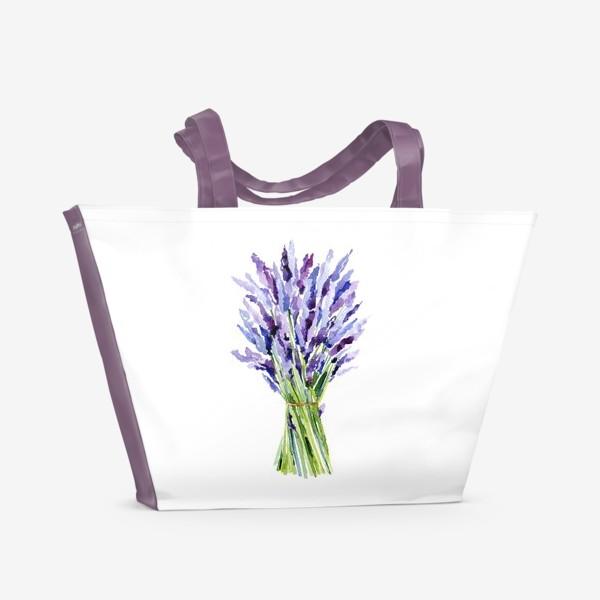 Пляжная сумка «Лаванда»