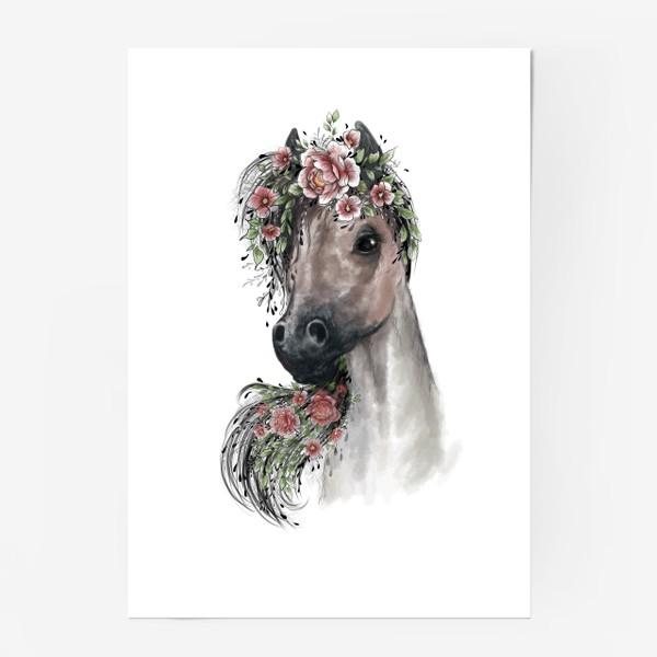 Постер «Лошадь»