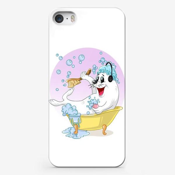 Чехол iPhone «тюленьчик»