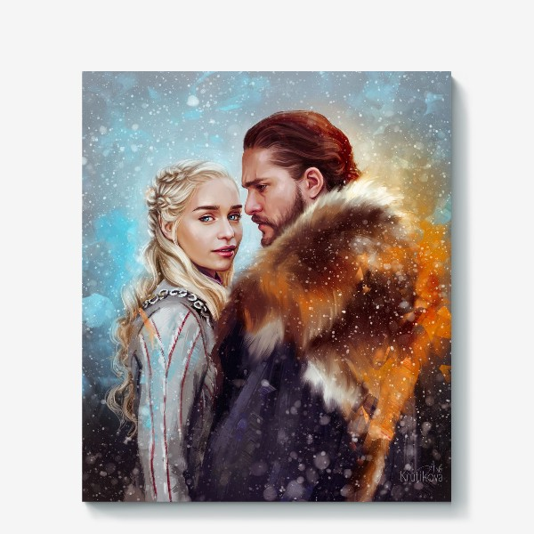 Холст « Game of Thrones»
