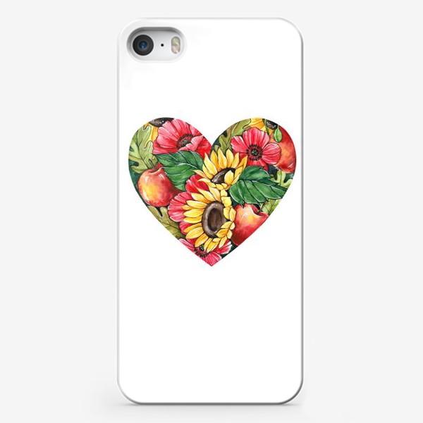 Чехол iPhone «Сентябрьское сердце»