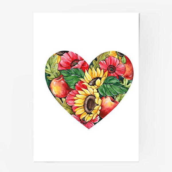 Постер «Сентябрьское сердце»