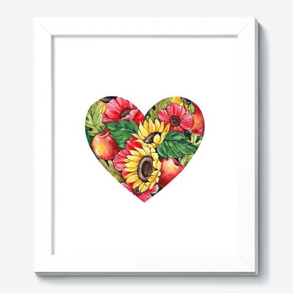 Картина «Сентябрьское сердце»