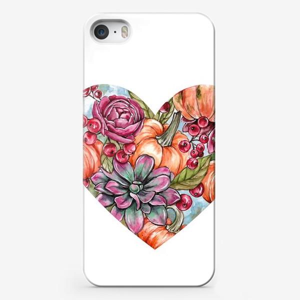Чехол iPhone «Октябрьское сердце»
