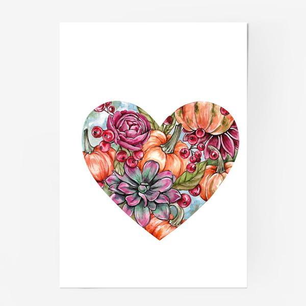 Постер «Октябрьское сердце»