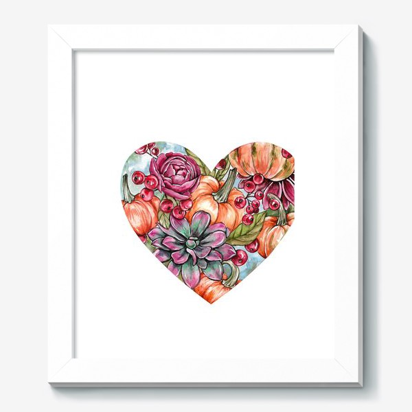 Картина «Октябрьское сердце»