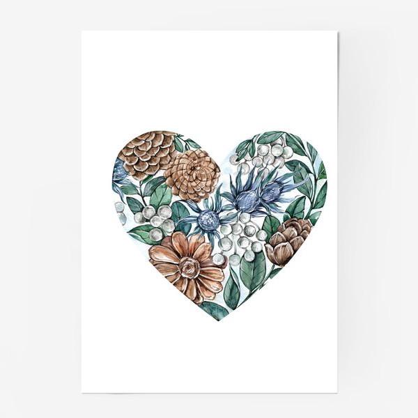 Постер «Ноябрьское сердце»
