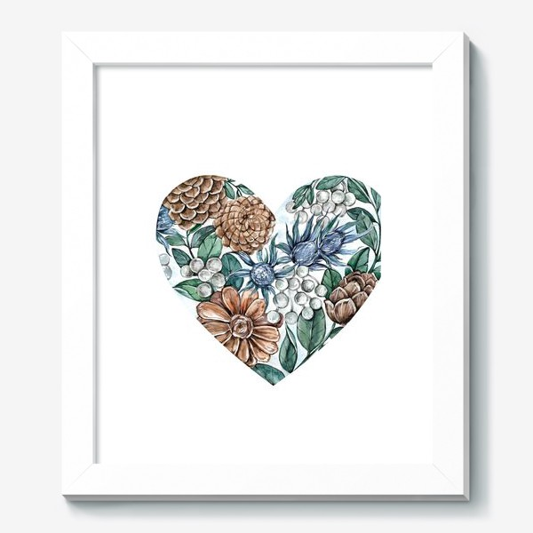 Картина «Ноябрьское сердце»