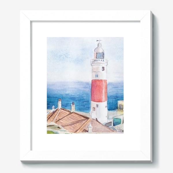 Картина «Маяк и море»